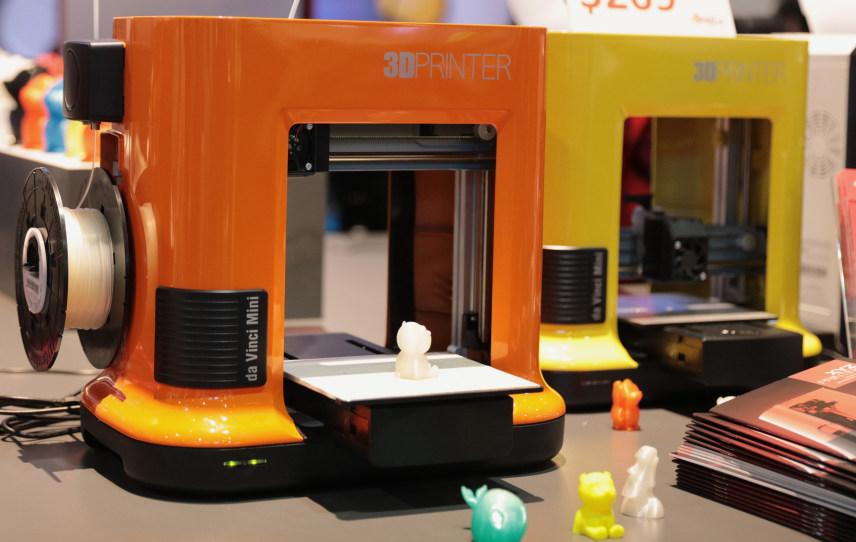 XYZプリンティング、290ドルの低価格3Dプリンターをリリース