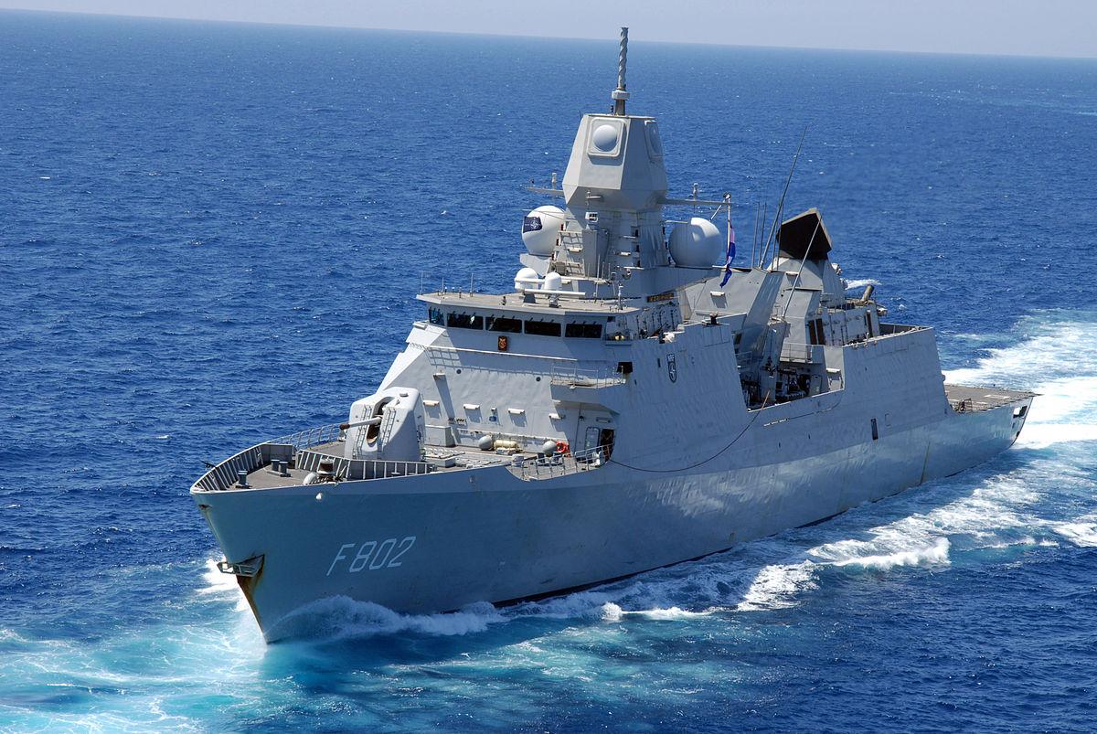 オランダ海軍が自軍の艦船のパーツを3Dモデル化