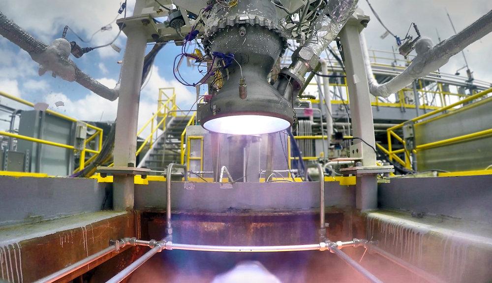 リラティビティ・スペースが3Dプリントロケットエンジンの噴射試験映像を公開