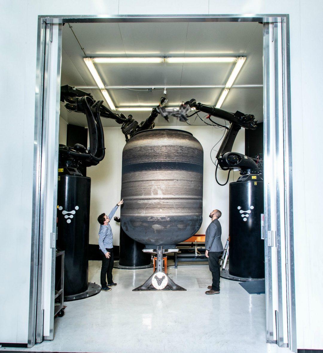 リラティビティ・スペースが高さ3.35メートルのロケット用燃料タンクを3Dプリンターで製造