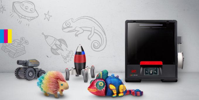 XYZプリンティングがラスベガス家電見本市で小型カラー3Dプリンターを展示