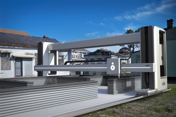 テキサス州の建設会社が新型建設3Dプリンター「ヴァルカンⅡ」をリリース