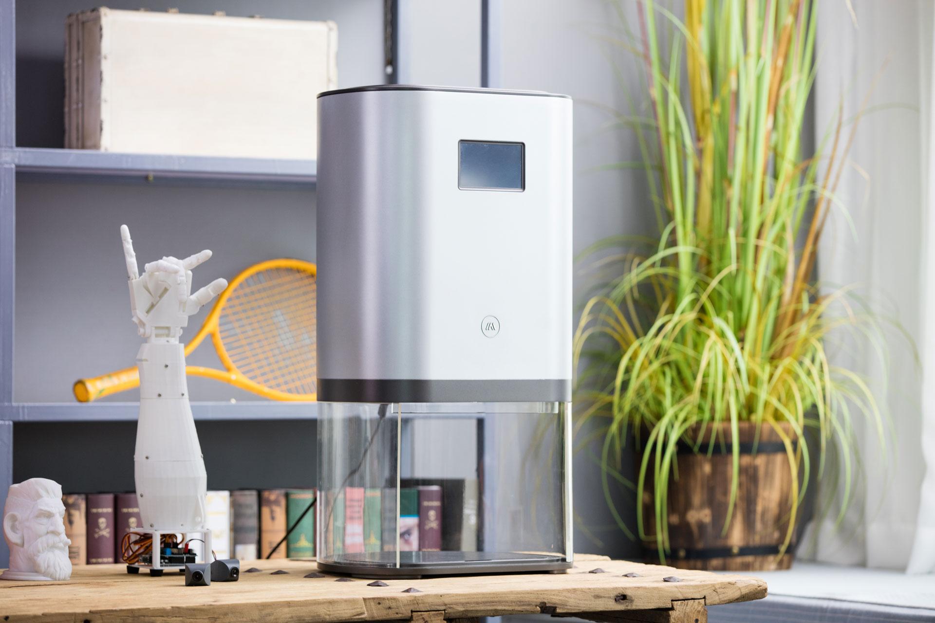 Tiko似のオールインワン型3Dプリンターのキックスターターキャンペーンが好調