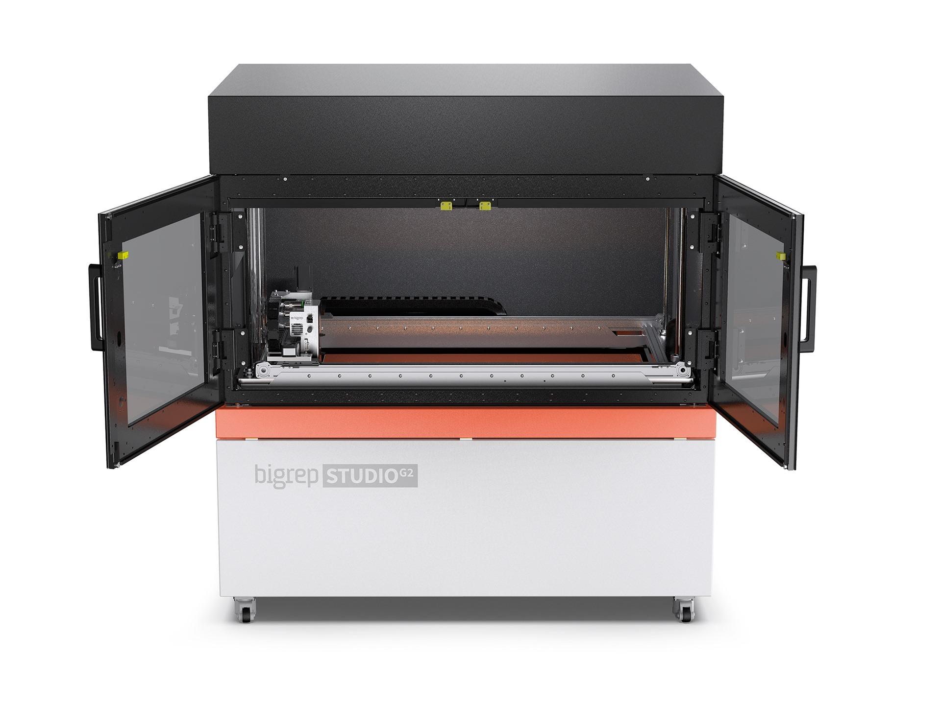 ビッグレップが新型大型3Dプリンター「ビッグレップSTUDIO G2」をリリース