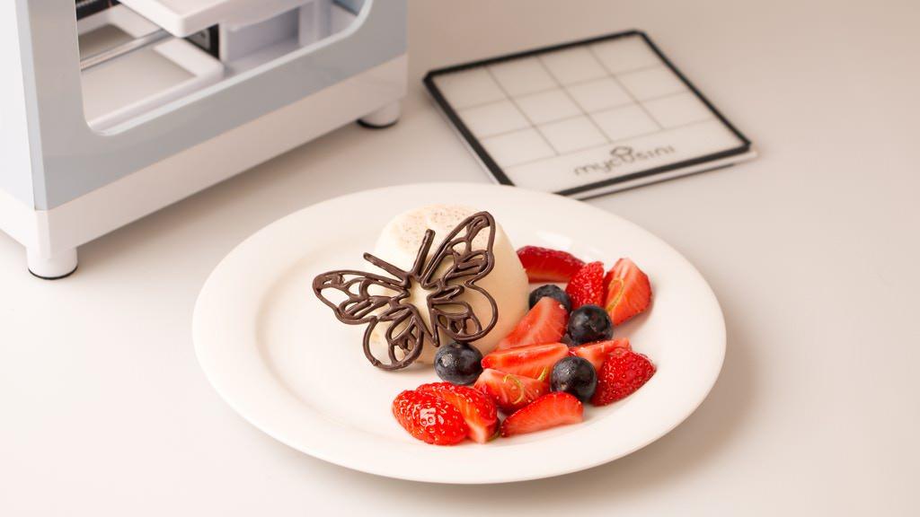 チョコレート3Dプリンター「Mycusini」がキックスターターで目標金額を調達