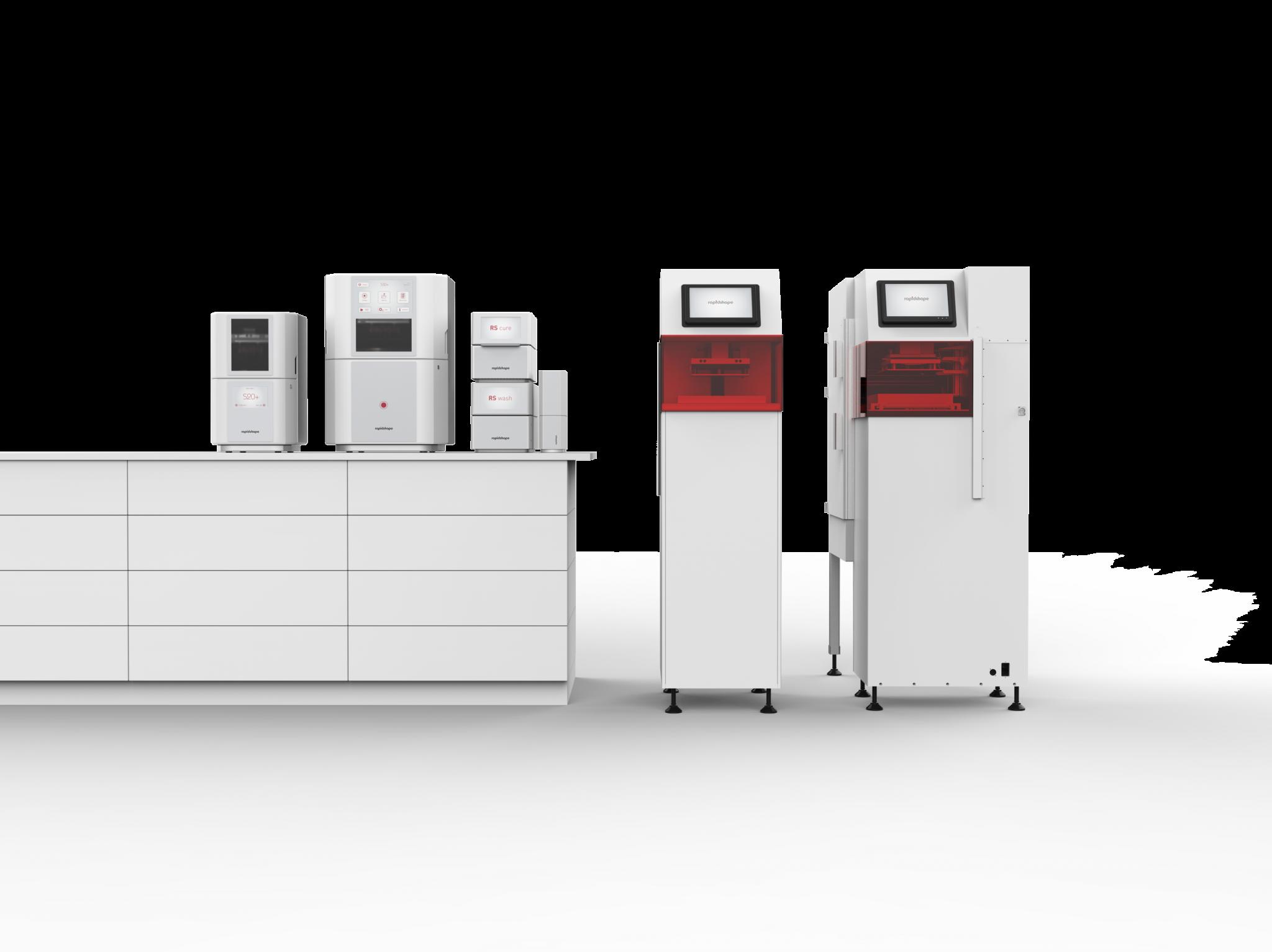 ラピッドシェイプが5種類のジュェリー製造用3Dプリンターをリリース