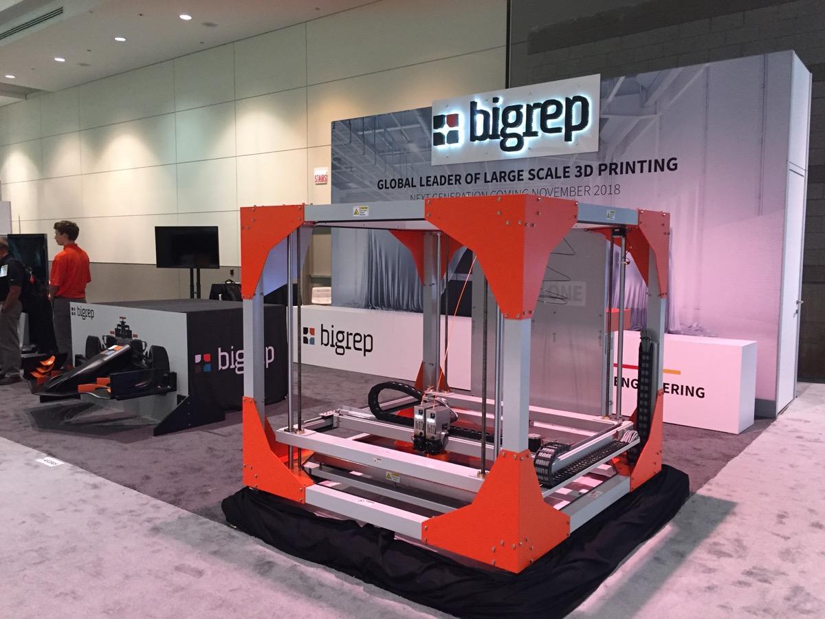 ビッグレップの大型3Dプリンター出荷台数が500台に到達