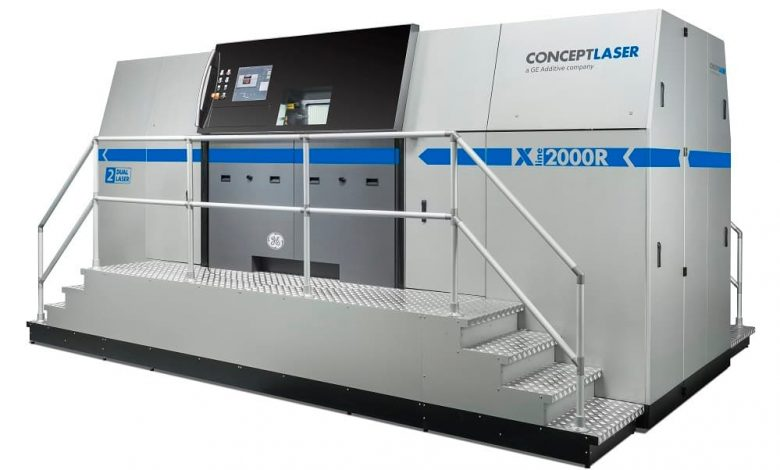 プロトラブズがコンセプトレーザーのXライン2000R3Dプリンターを導入