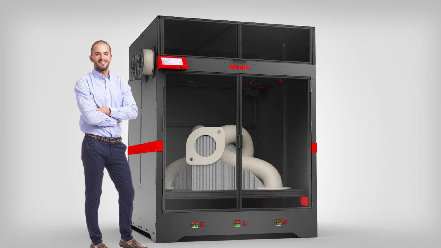 モディックスが三種類の大型3Dプリンターをリリース