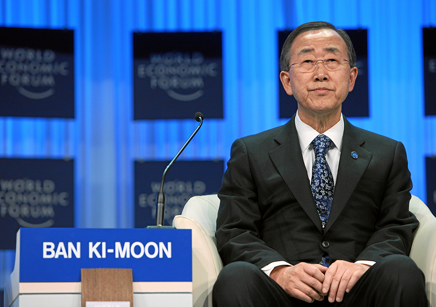 潘基文国際連合事務総長が3Dプリンターを世界の脅威と指摘