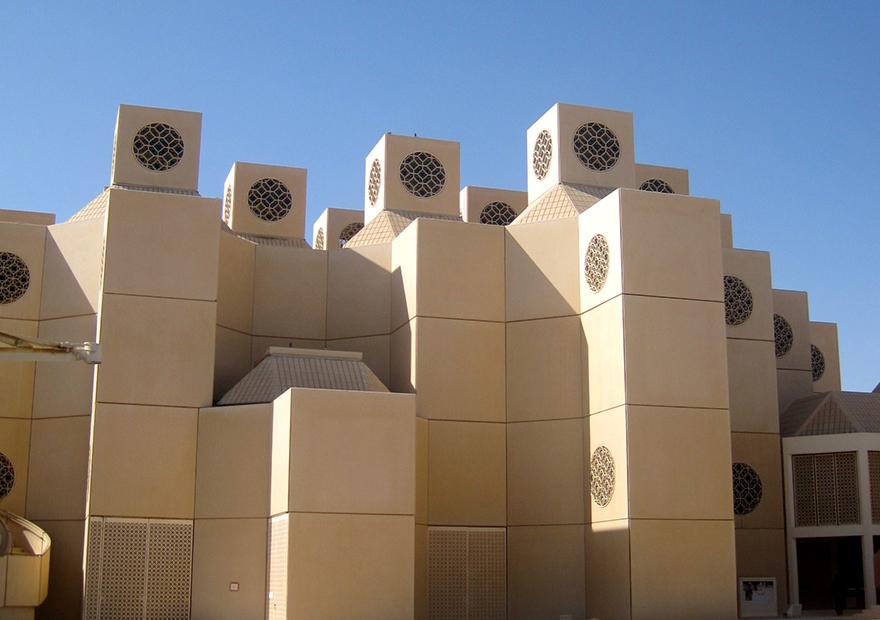 カタール大学がサッカースタジアムの風洞試験用モデルを3Dプリンターで制作