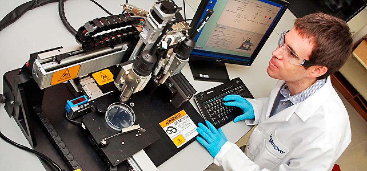 オーガノボ、移植可能なヒトの肝臓細胞のバイオプリンティングを開始