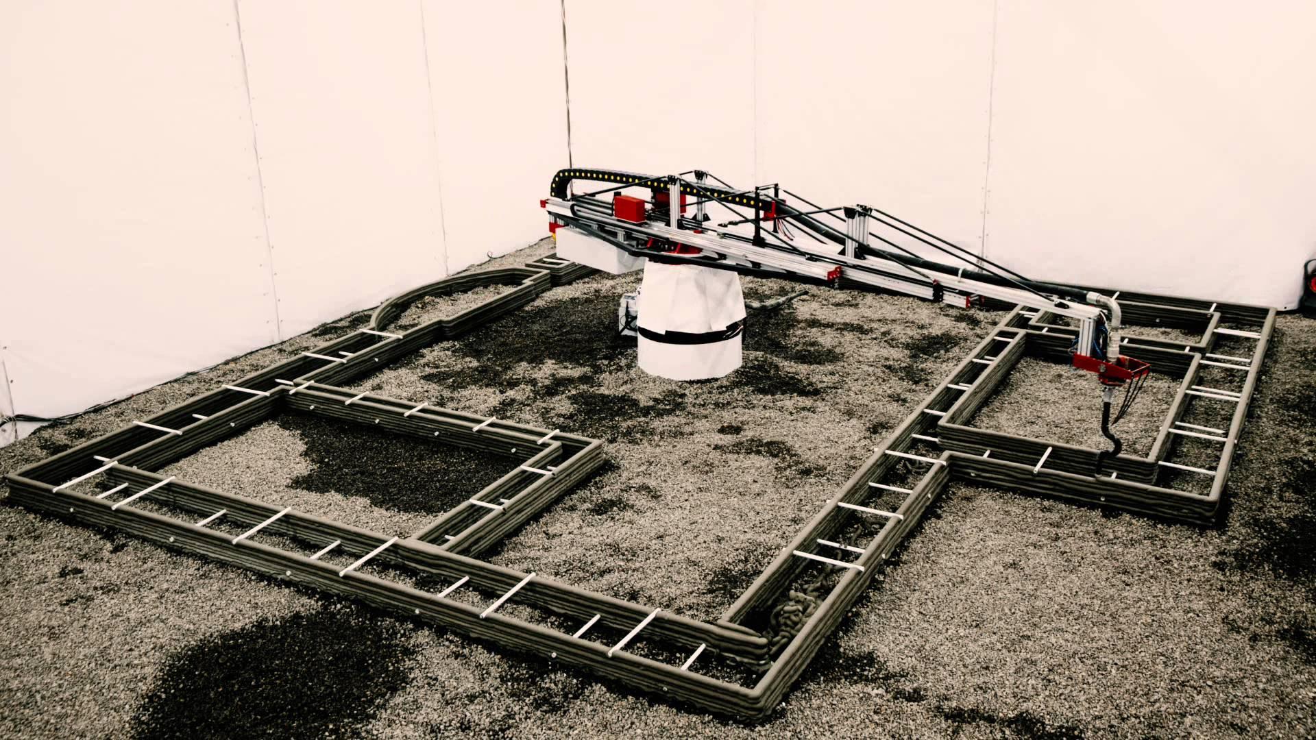 キックスターターでコンクリート3Dプリンター開発プロジェクトが開始