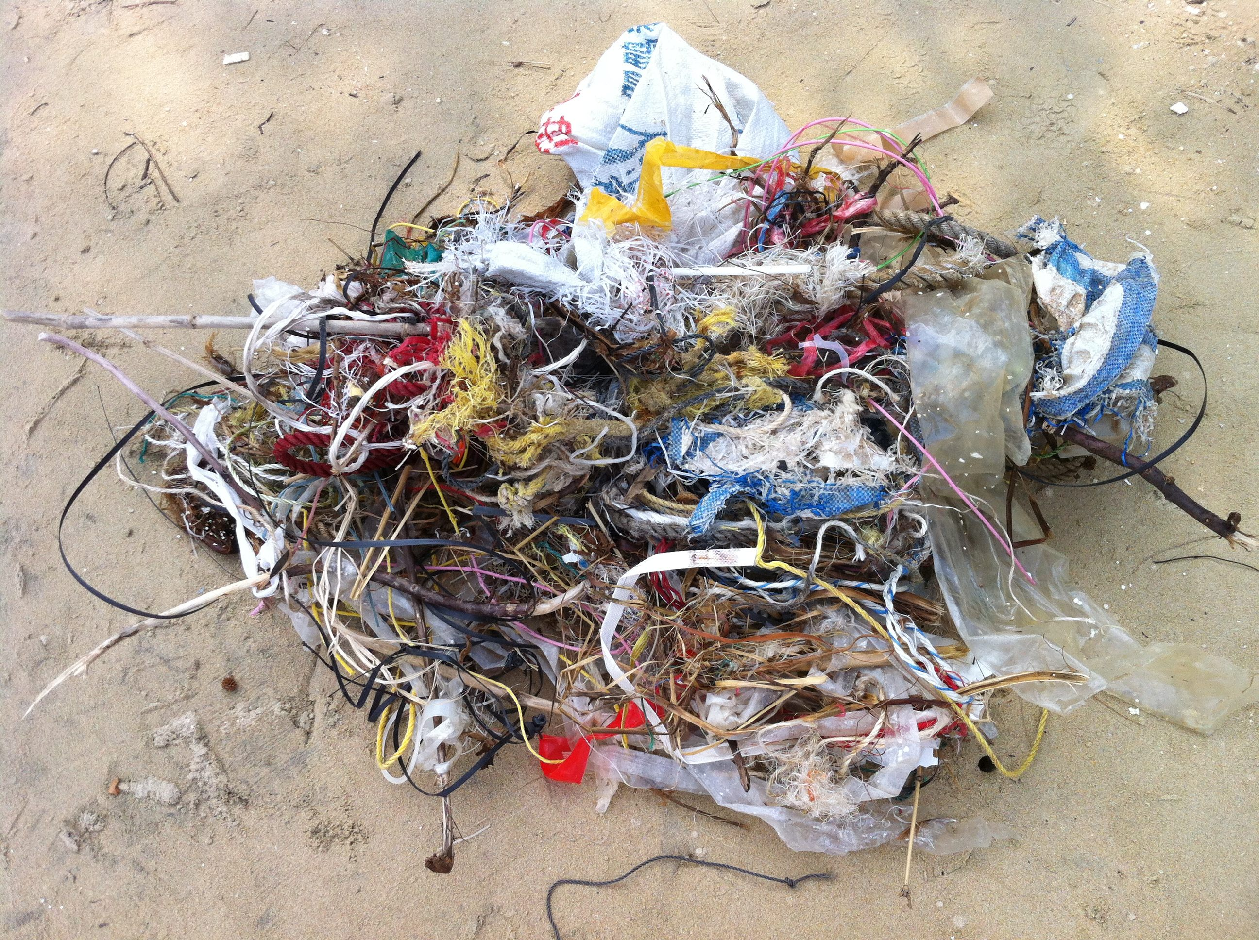 タスマニアの教師が海洋ロープゴミから3Dプリンター用フィラメントを製造