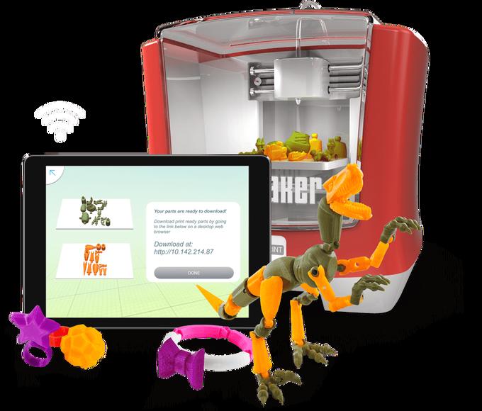 マテルの子供用3Dプリンターの出荷時期が来年に延期