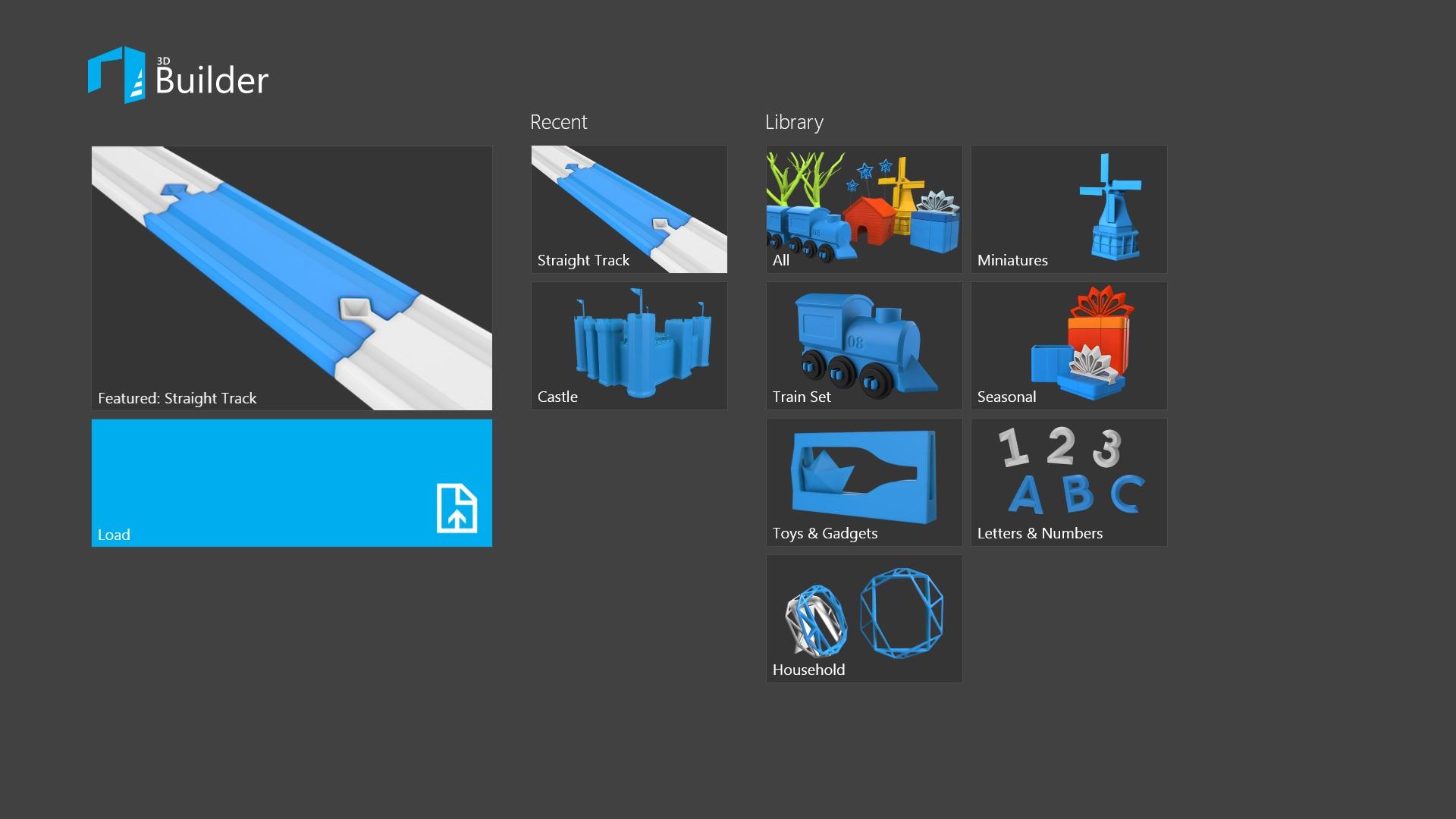 マイクロソフト、3Dモデリングアプリ「3Dビルダー」をリリース