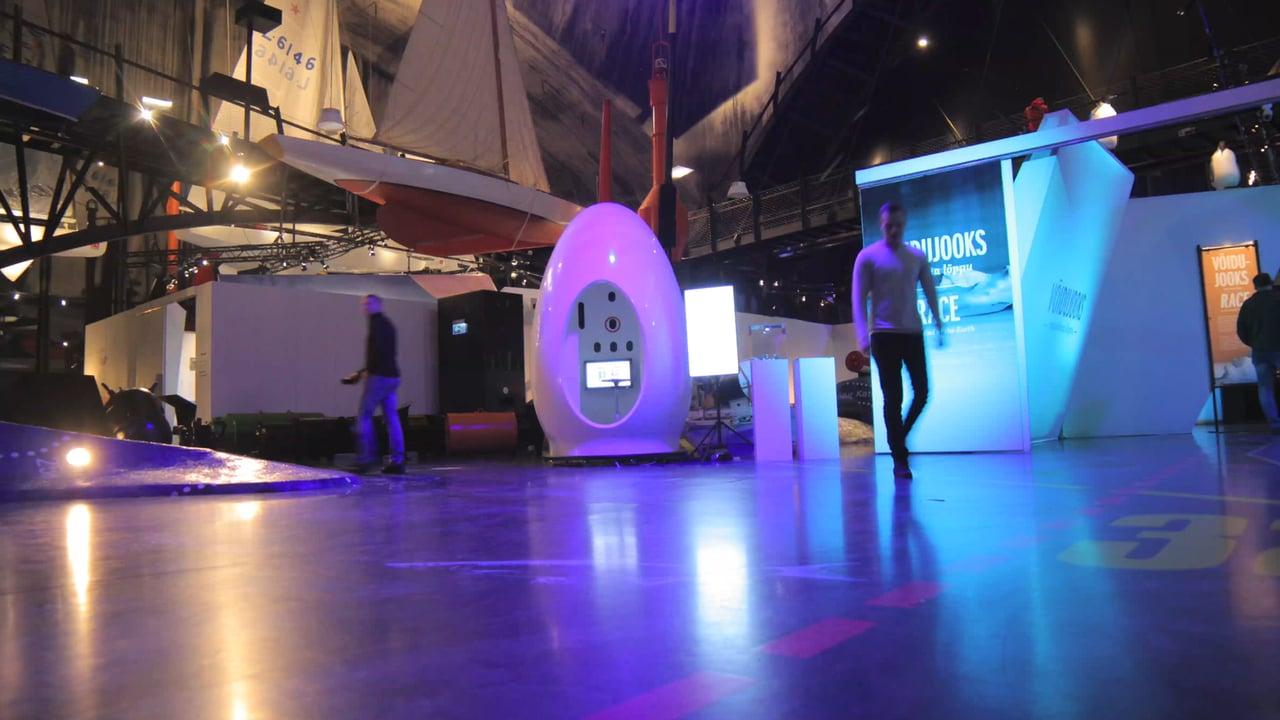 エストニアの3Dスキャニングポッドメーカーが50万ドルを調達