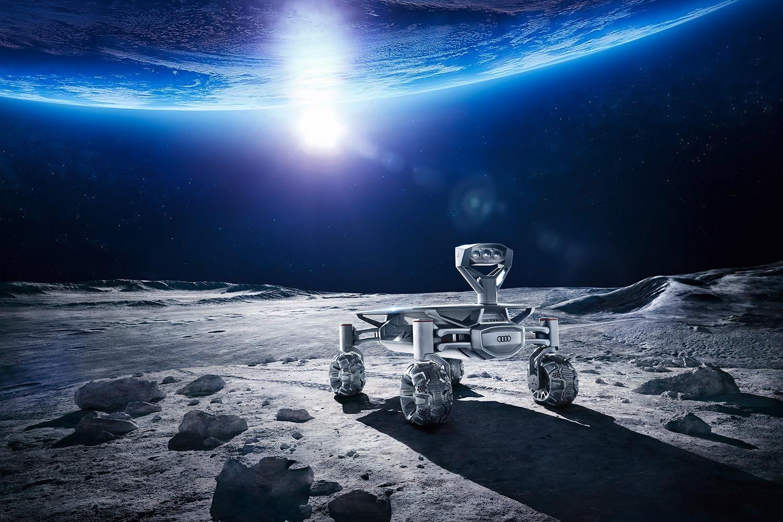 アウディが月面探査機を3Dプリンターで製造