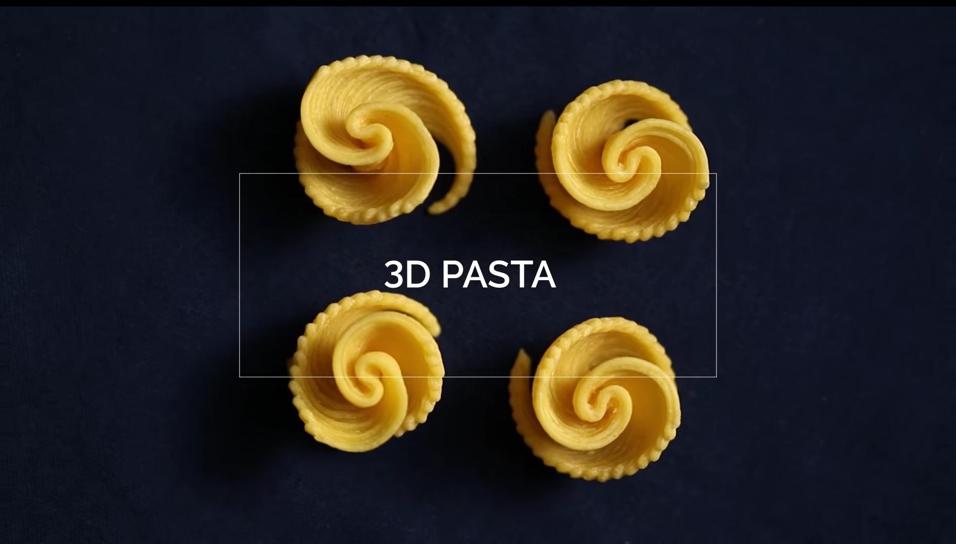 イタリアのパスタメーカーが第二回3Dプリントパスタデザインコンテストを実施