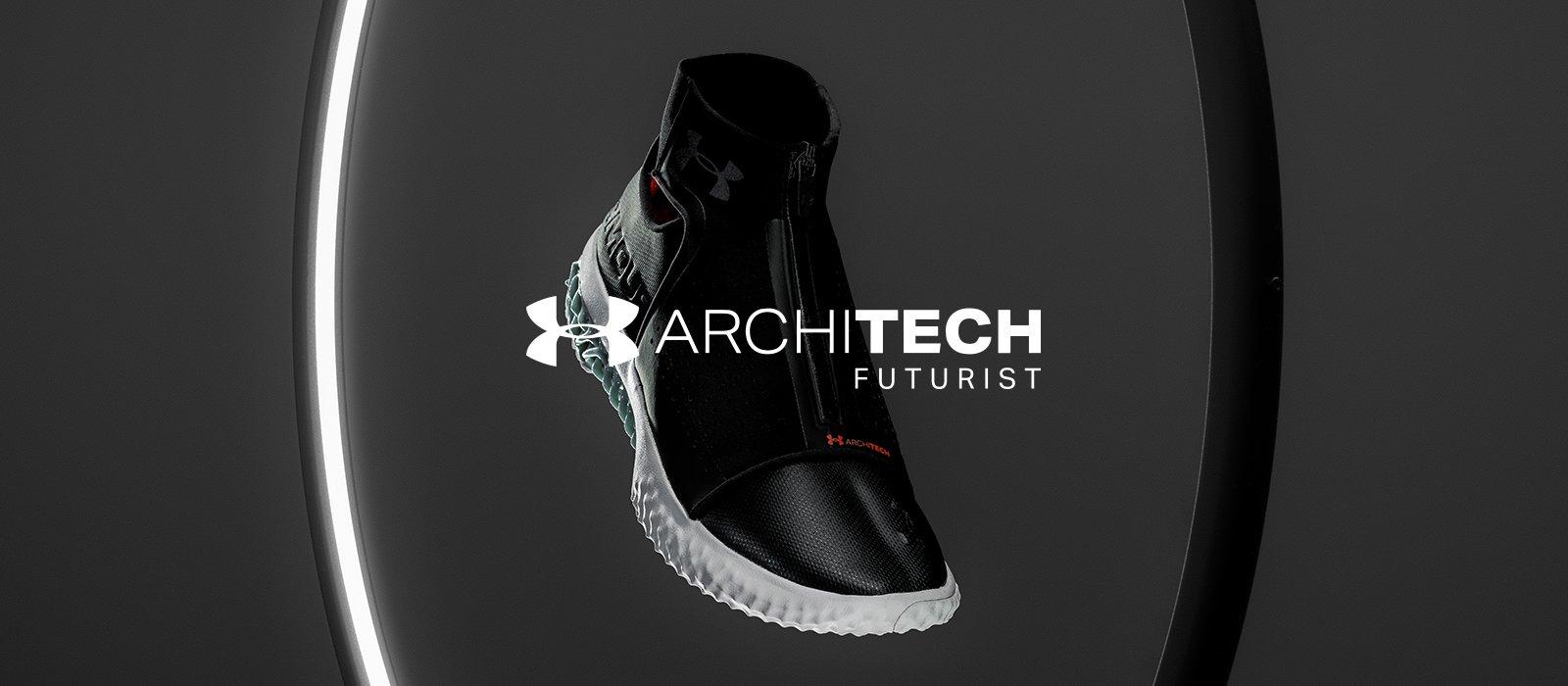 アンダーアーマーが最新の3Dプリントシューズ「アーキテック・フューチャリスト・スニーカー」をリリース