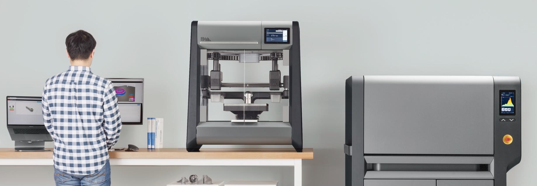 デスクトップ・メタルが高性能・高速メタル3Dプリンター二機種をリリース