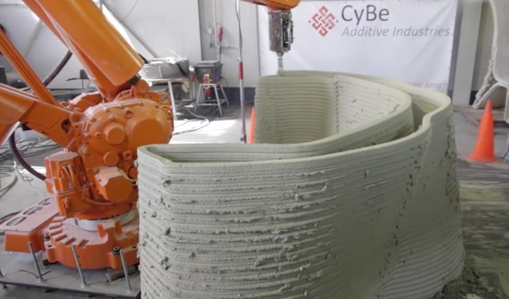 オランダの建設会社がドバイの研究施設を3Dプリンターで建設