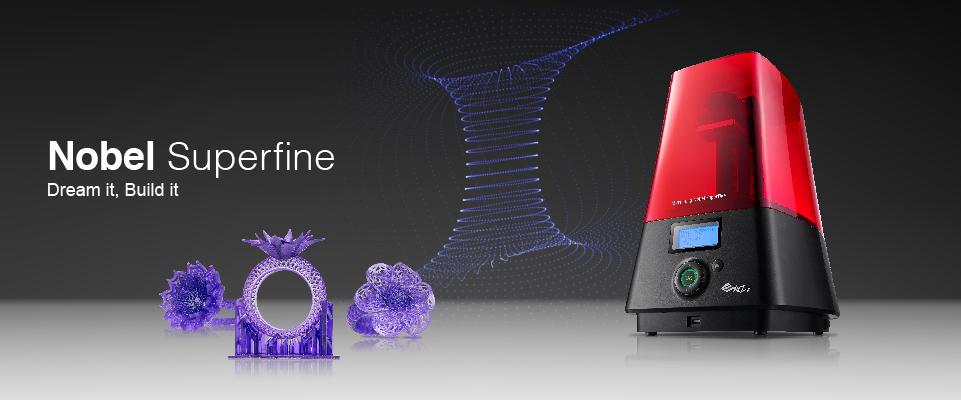 XYZプリンティングが「ノベル・スーパファインDLP3Dプリンター」をリリース