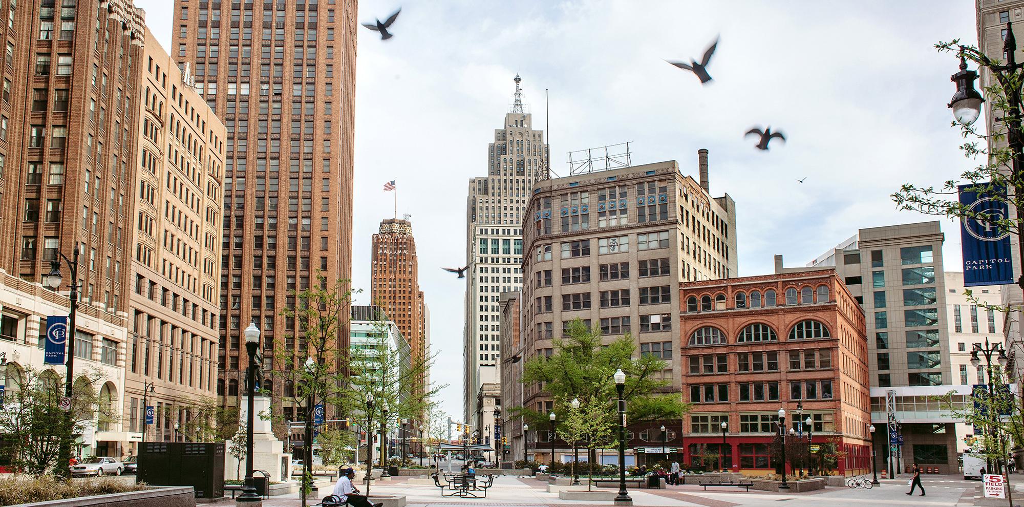 デトロイトのデザイン事務所がストラタシスと共同でダウンタウンの再開発計画を立上げ