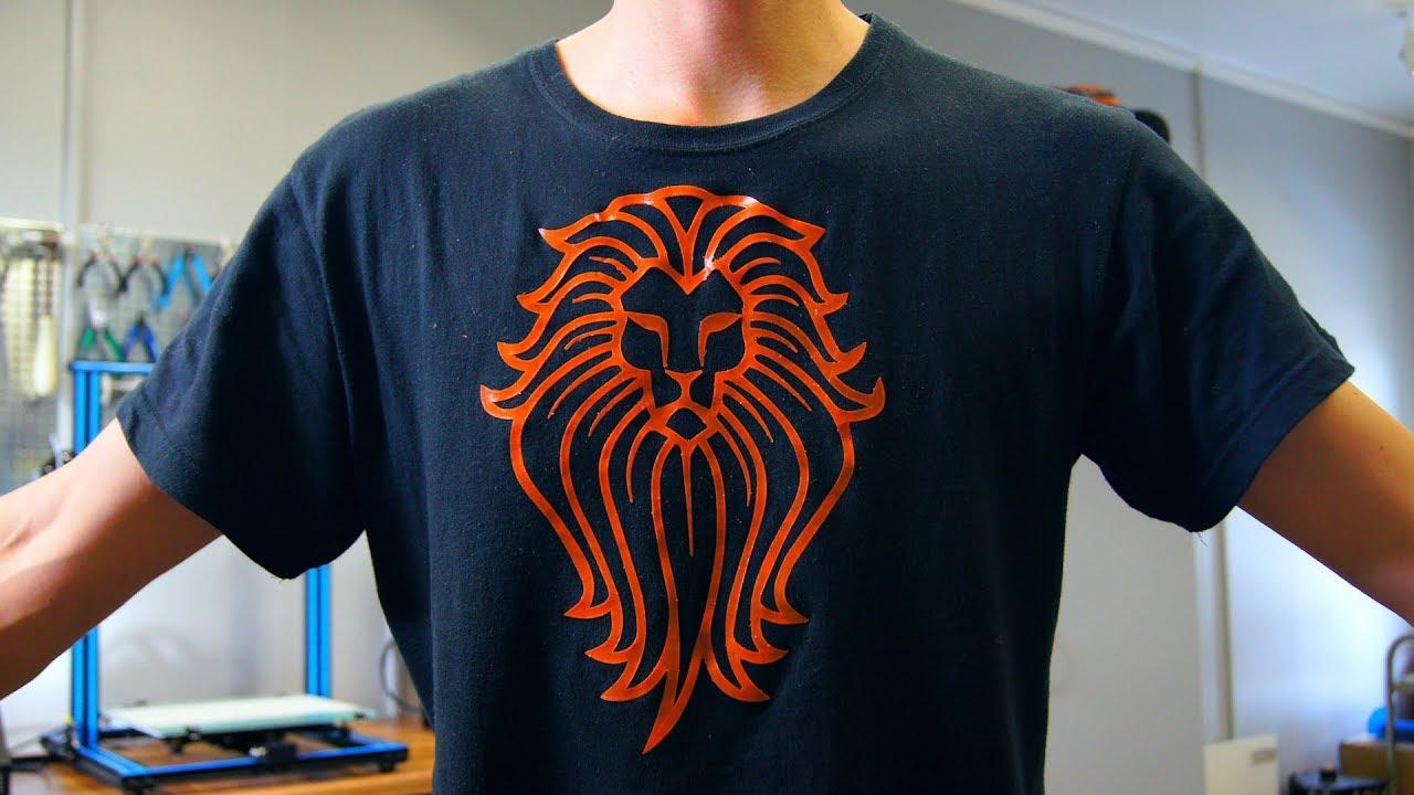 人気ユーチューバーが3DプリンターでTシャツをデコレートする方法を公開