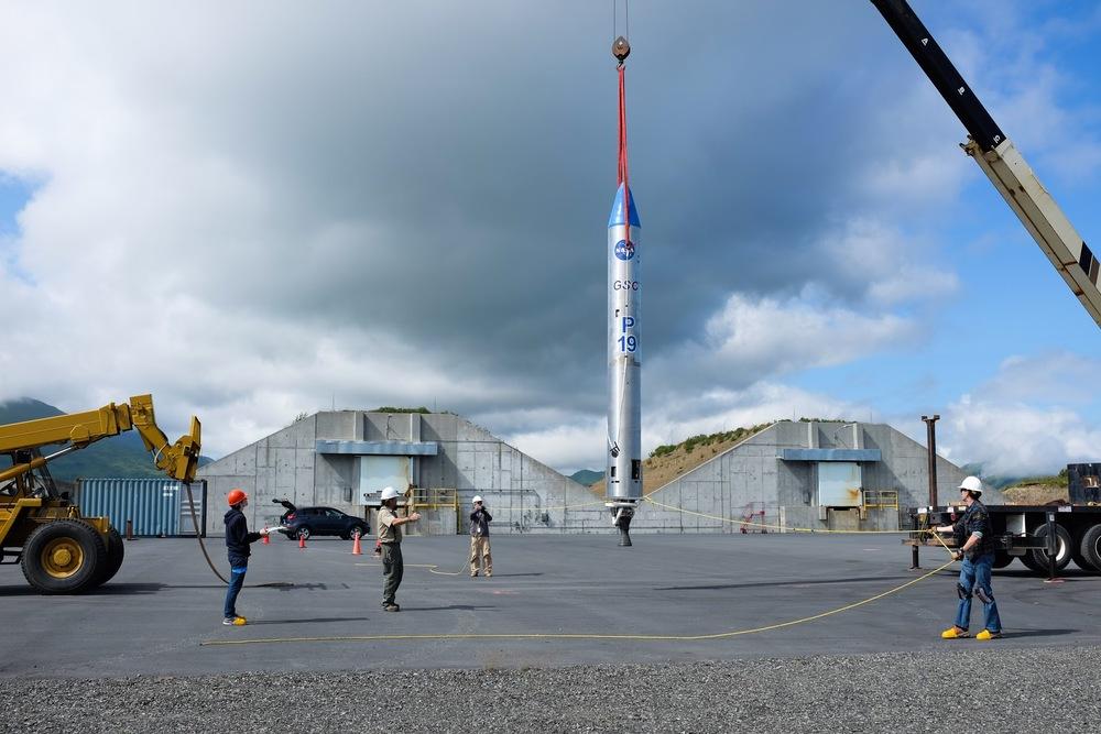 ベクター・スペースシステムズが小型ロケットベクターR試験機の打ち上げに成功