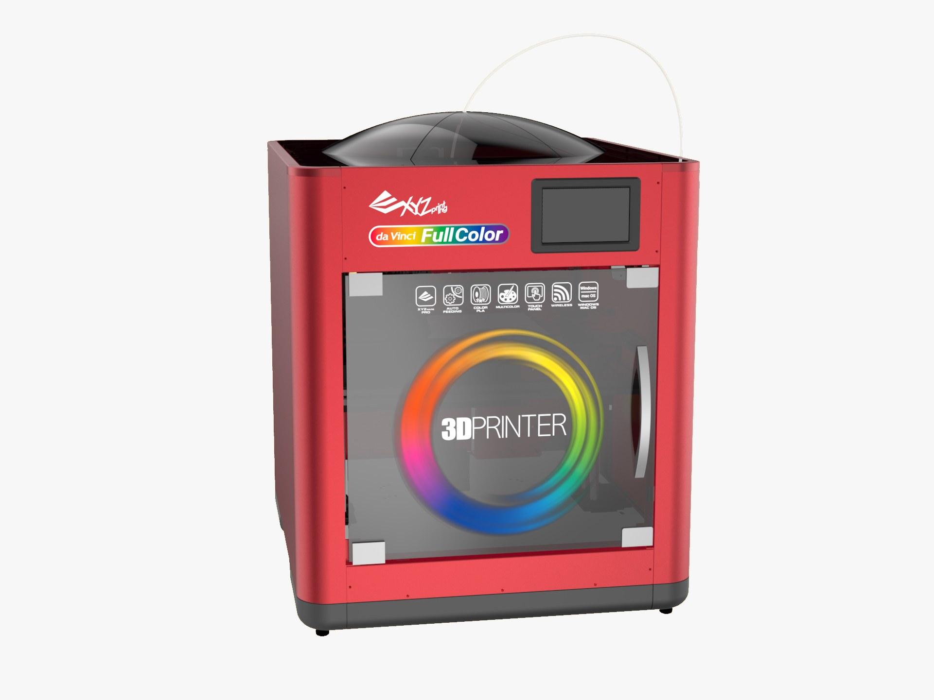 XYZプリンティング、価格3000ドルのフルカラー3Dプリンターをリリース