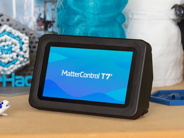 マターハッカーが3Dプリンターコントローラー「マターコントロールT7X」をリリース