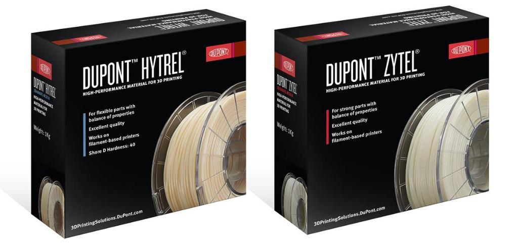 デュポンがハイパフォーマンス3Dプリンターフィラメントの販売開始