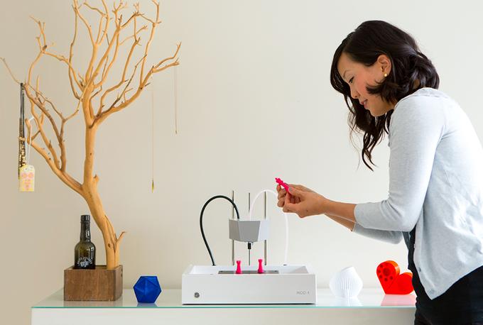 ニューマター、第二世代MOD-t3Dプリンターのキックスターターキャンペーンを開始