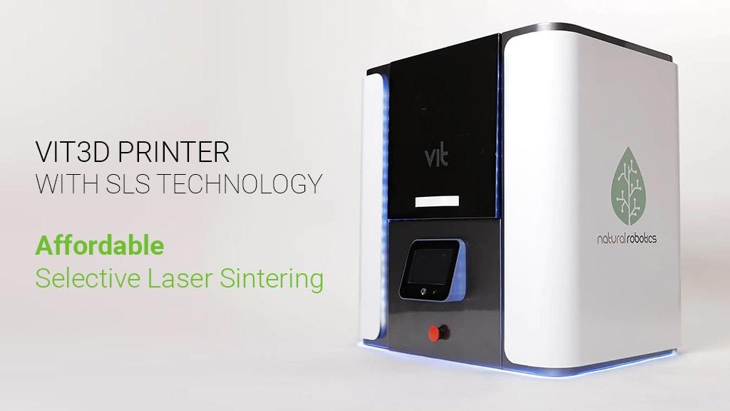 価格7千ドルのSLS3Dプリンターのキックスターターキャンペーンが開始から30分で資金調達目標に到達