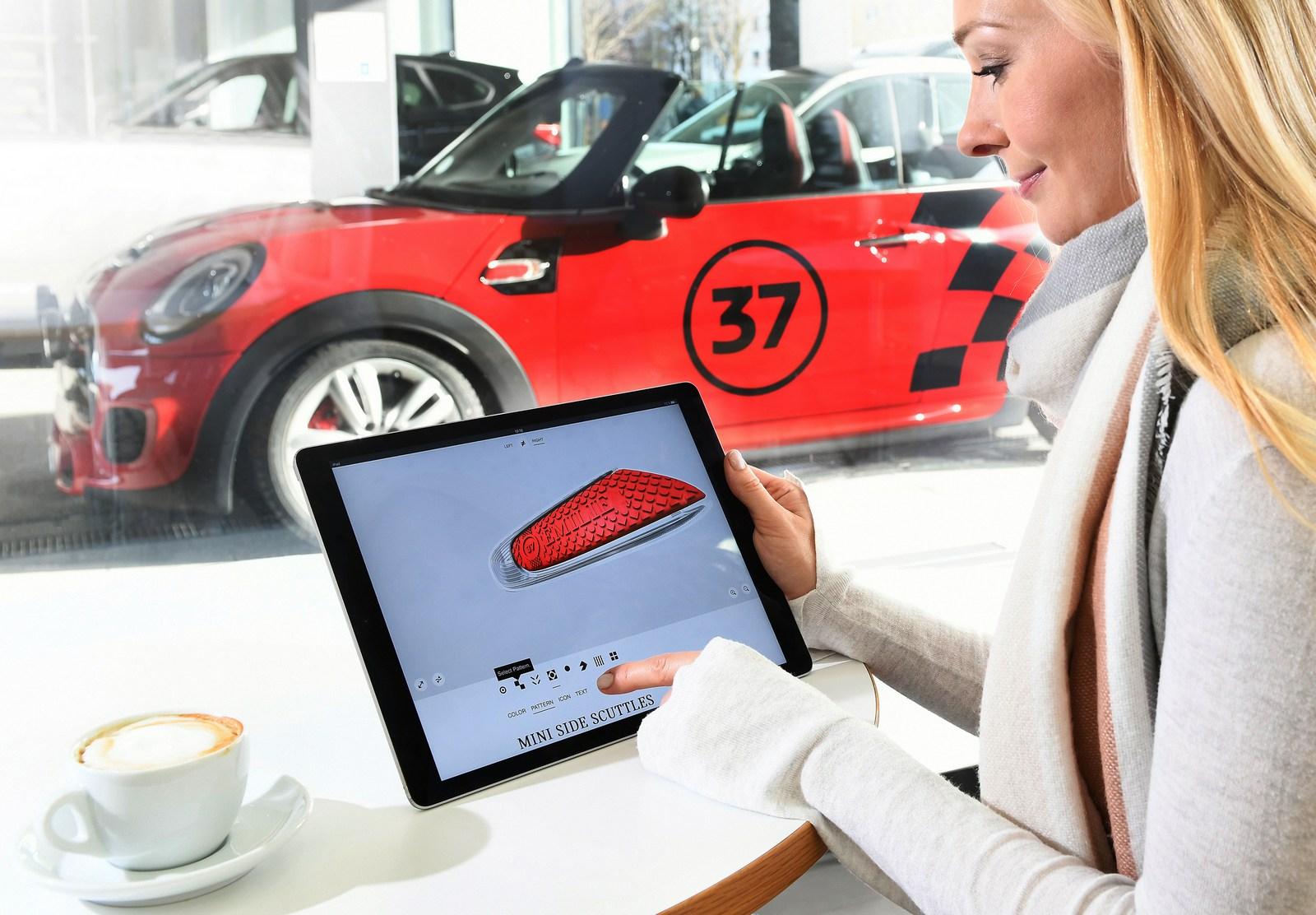 ミニがカスタマイズパーツの3Dプリンティングサービスを開始