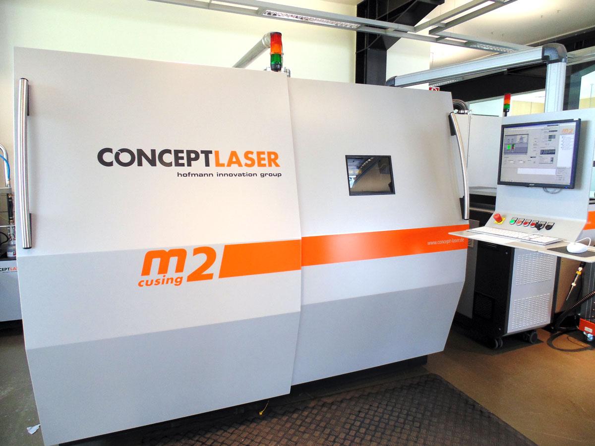 コンセプトレーザーが新工場を設立へ