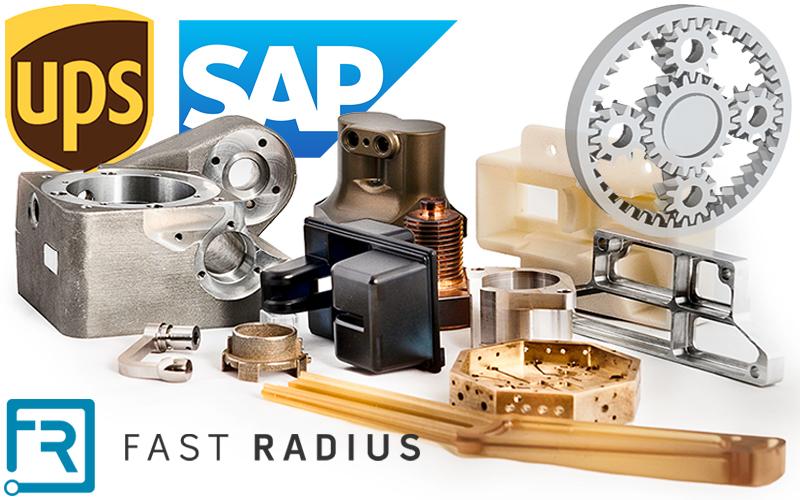 UPSがSAPと共同で法人向け3Dプリンティングサービス事業を開始