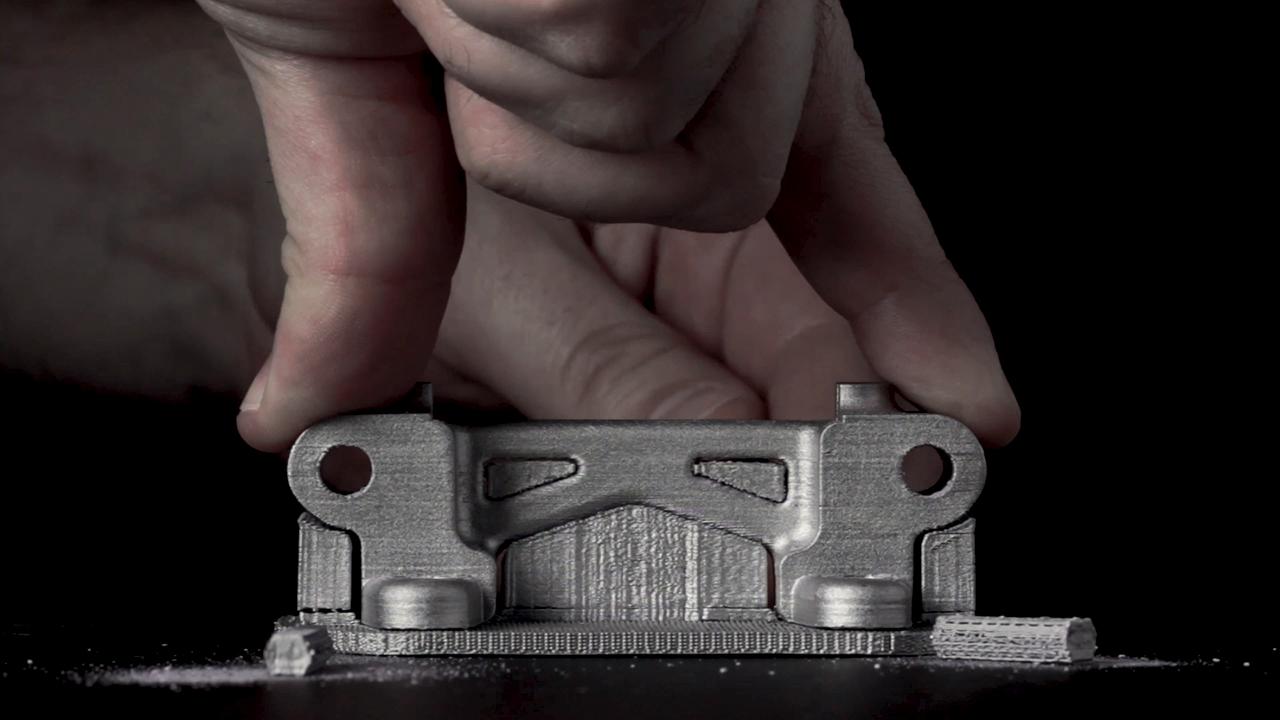 デスクトップメタルがサポート材の特許を取得