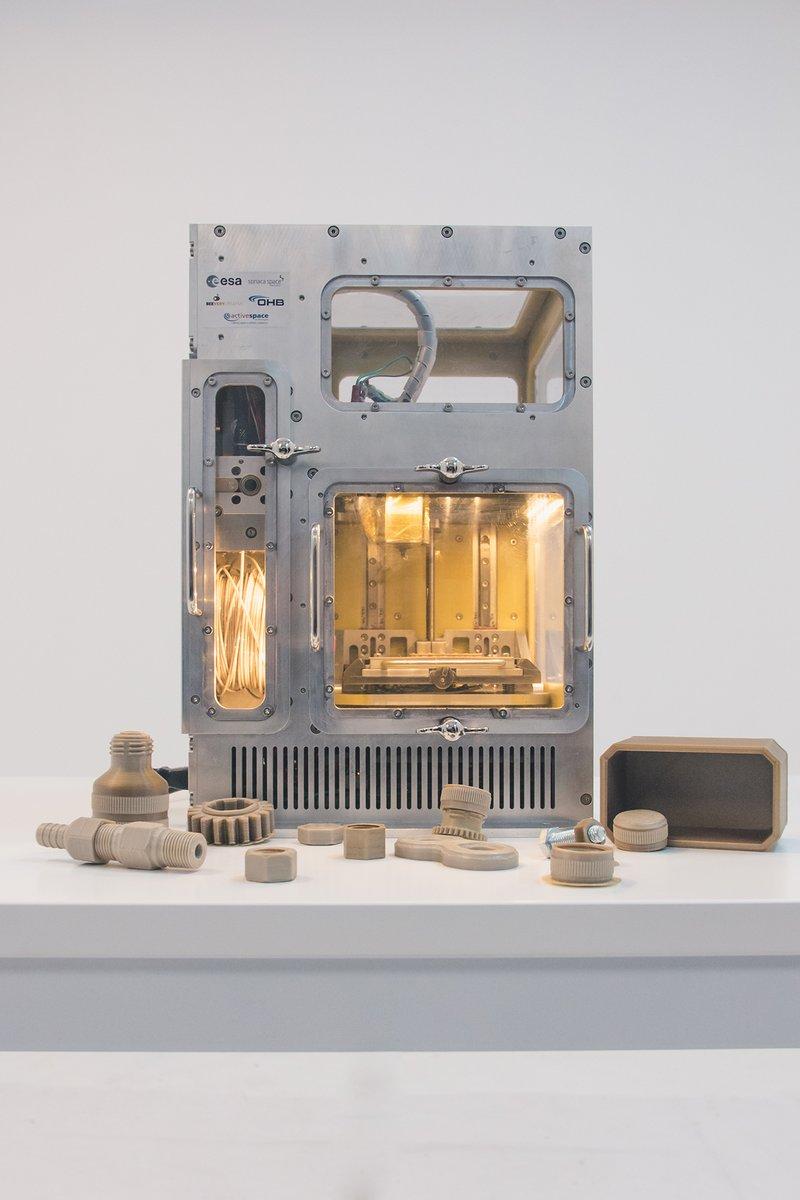 欧州宇宙機関が宇宙用3Dプリンターの試作機を取得