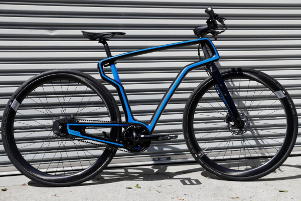 米CIAが支援するベンチャー企業が世界初のカーボンファイバー製3Dプリント自転車を製造