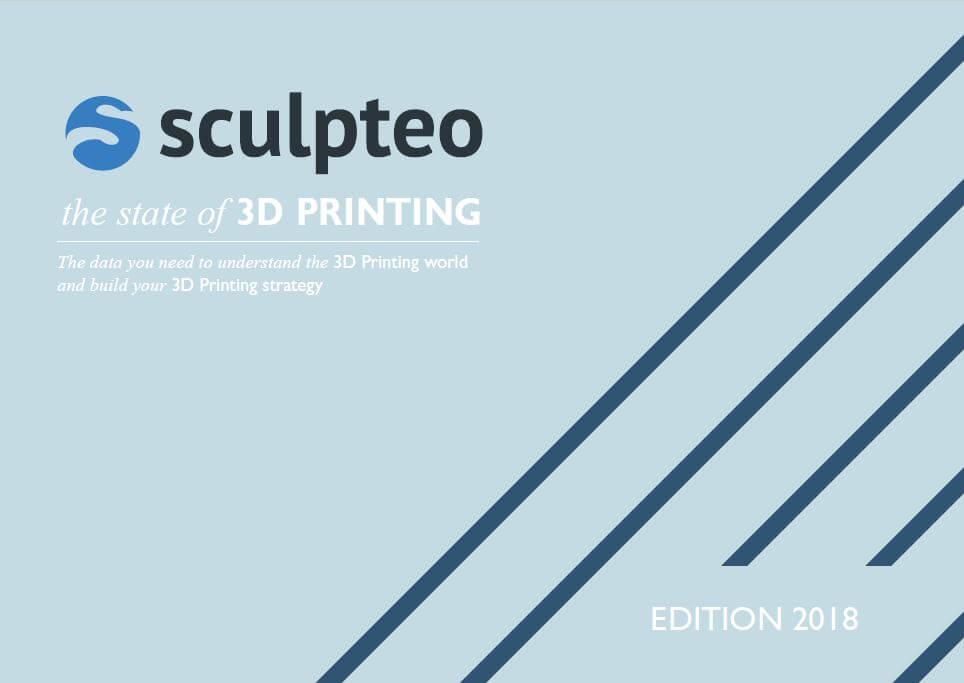 スカルプティオが年次レポート「ステート・オブ・3Dプリンティング2018」をリリース