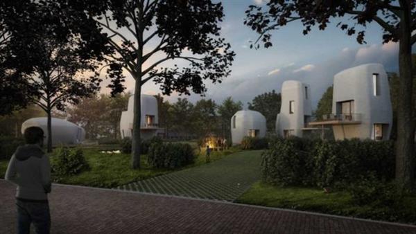 オランダの大学が民間企業と5棟の3Dプリント住宅を建設へ