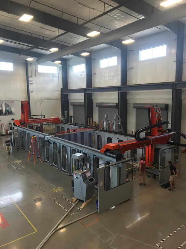 ローカルモーターズが世界最大クラスの工業用3Dプリンターを導入