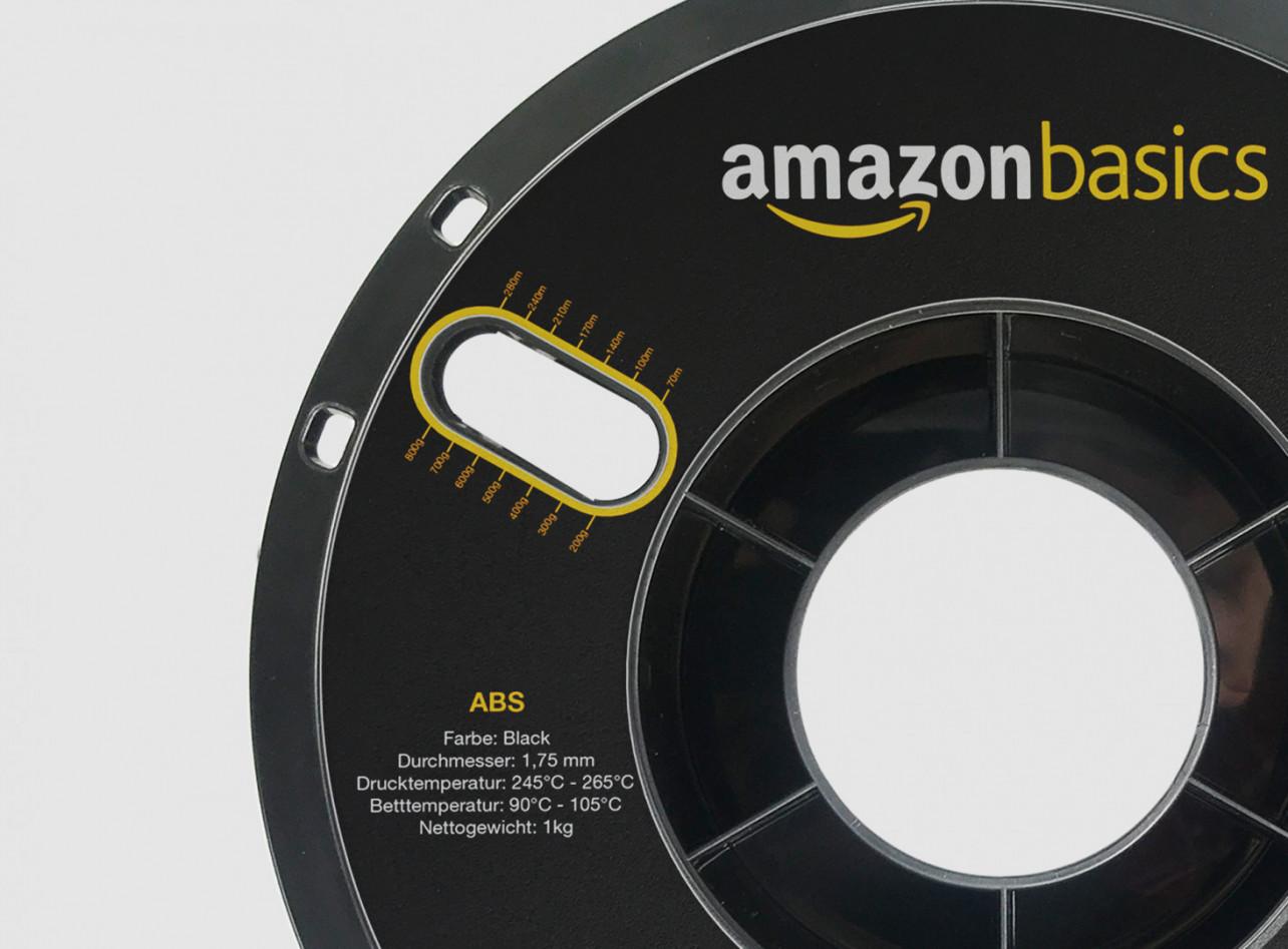 Amazonが独自ブランドの3Dプリンター用フィラメントの販売を開始