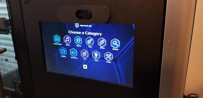 Venturi3Dが3Dモデル内蔵型3Dプリンターのキックスターターキャンペーンを開始