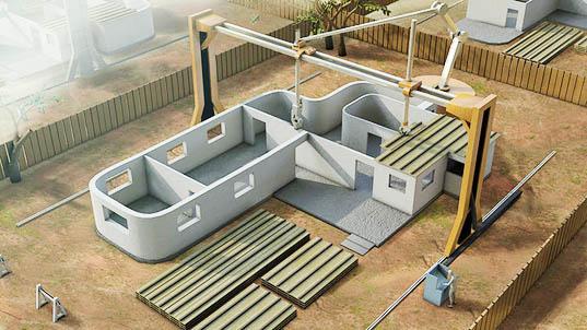 コンツアー・クラフティングが米国防省から簡易住宅建設用3Dプリンター開発契約を受注