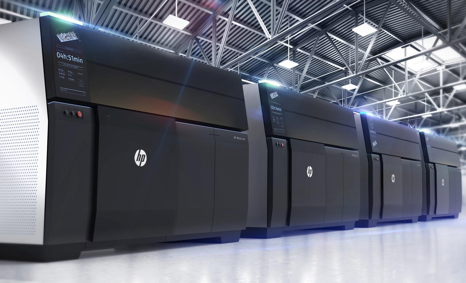 HPがシカゴ国際工作機械見本市でメタルジェット3Dプリンターを展示