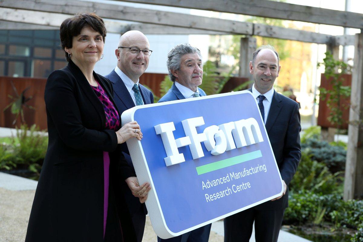 アイルランドのダブリン大学がI-Form先端製造リサーチセンターを開設