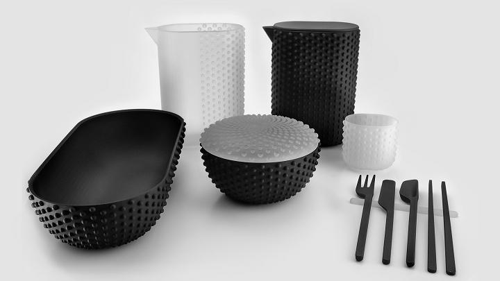 ニューヨークの著名デザイナーが3Dプリンターでキッチンウェアを製造